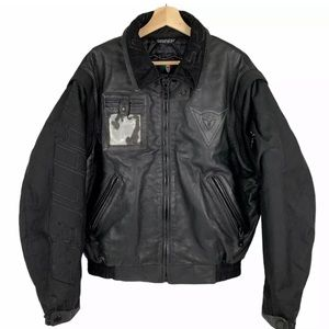 SOLD Dainese Leather Front Motorcycle Jacket Mens